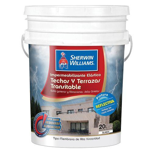 Impermeabilizante Techos/Terrazas Bla S.Williams 20 Lts