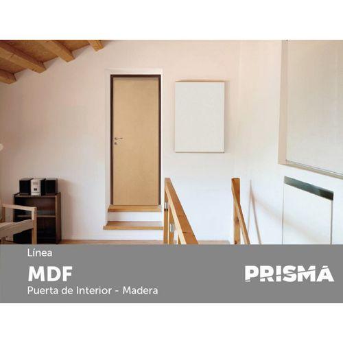 Puerta Placa Prisma MDF DC MCH 70x07 Cm Derecha