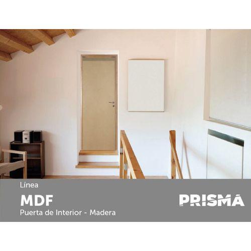 Puerta Placa Prisma MDF DC MM 80x07 Cm 80x07 Cm Izquierda