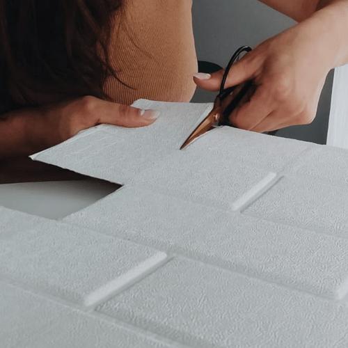 Placa Decorativa 3D Autoadhesiva Tile