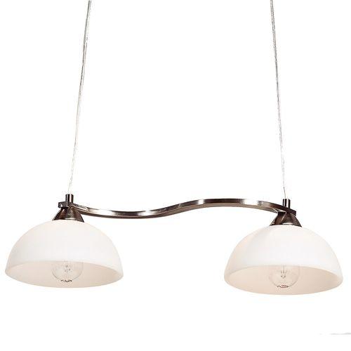 Lámpara Colgante 2 Luz E27 40W Metal Vidrio