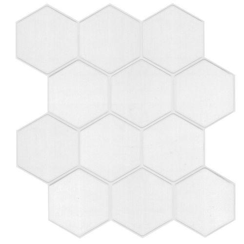 Wallsticker Hexagono Blanco