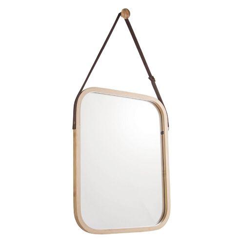 Espejo De Pared Bamboo 40X33CM