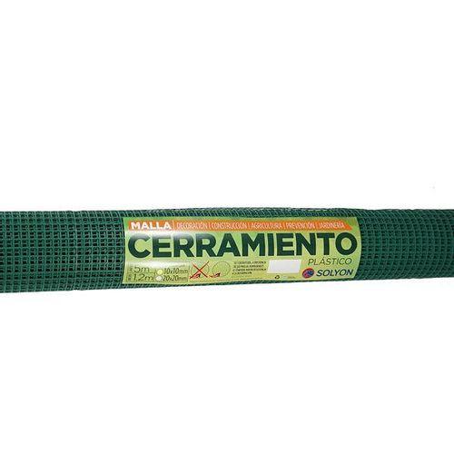 Rollo Malla Liviana. 10X10 Verde 1.2X5M
