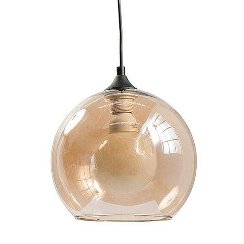 Lámpara Colgar 1 Luz E27 60W Vidrio 29 Cm Ambar