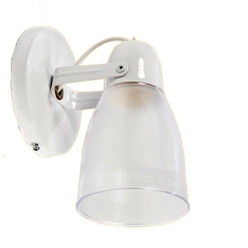 Spot Bajo Consumo Eco E27 1 Luz Acrílico Blanco