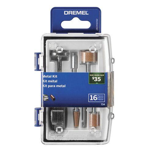 Kit 16 Acc Dremel Micro Kit Metal