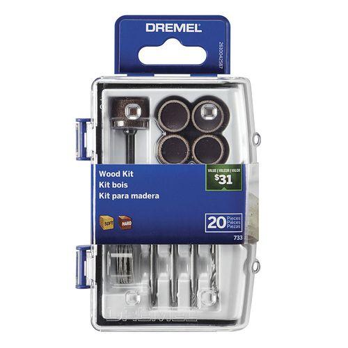 Kit 20 Acc Dremel Micro Kit Madera