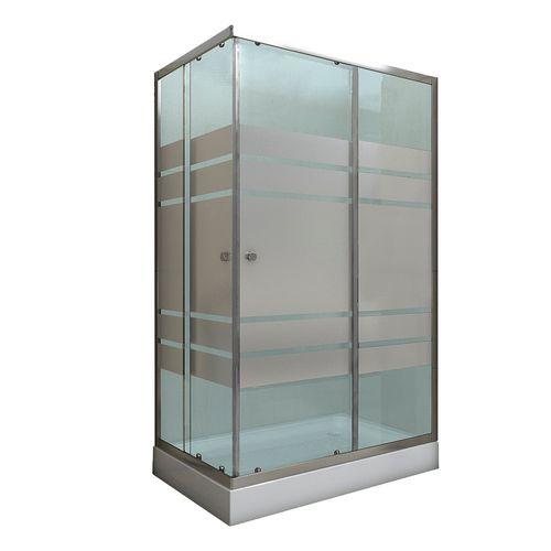 Shower 120x80x200 Cm Franjas 6 Mm