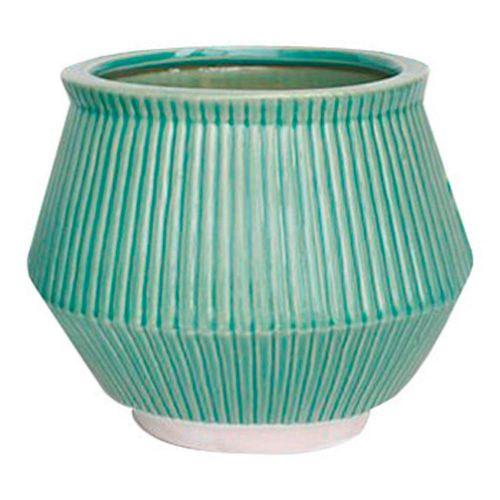 Maceta Ceramica Poseidon Menta Grande